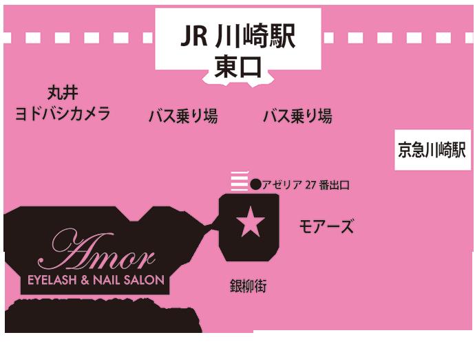 Amor川崎map
